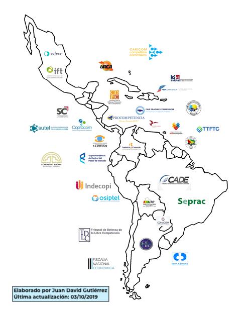 20191003 mapa-31-autoridades-de-competencia-latam CON leyenda